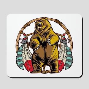 Bear Dream Catcher Mousepad