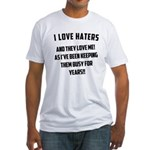 Gym Dirty Fitted T-Shirt