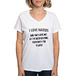 Gym Dirty Women's V-Neck T-Shirt