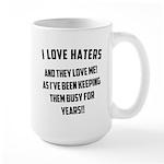 Gym Dirty Large Mug