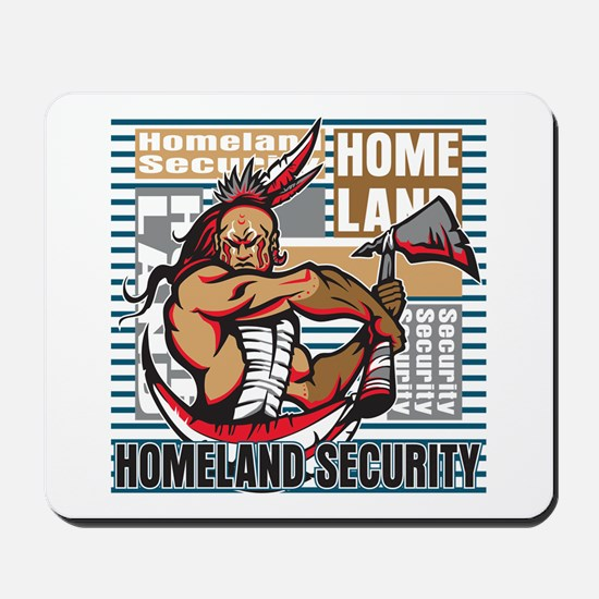 Indian Homeland Security Mousepad