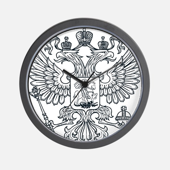 Eagle Coat of Arms Wall Clock