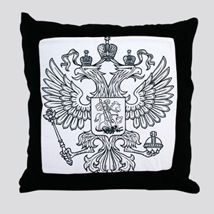 Eagle Coat of Arms Throw Pillow