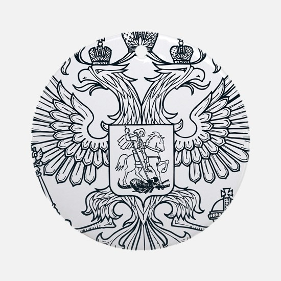 Eagle Coat of Arms Ornament (Round)
