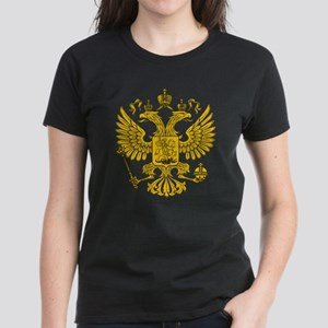 Eagle Coat of Arms Women's Dark T-Shirt