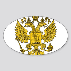 Eagle Coat of Arms Sticker (Oval)