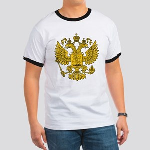 Eagle Coat of Arms Ringer T