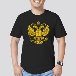 Eagle Coat of Arms Men's Fitted T-Shirt (dark)