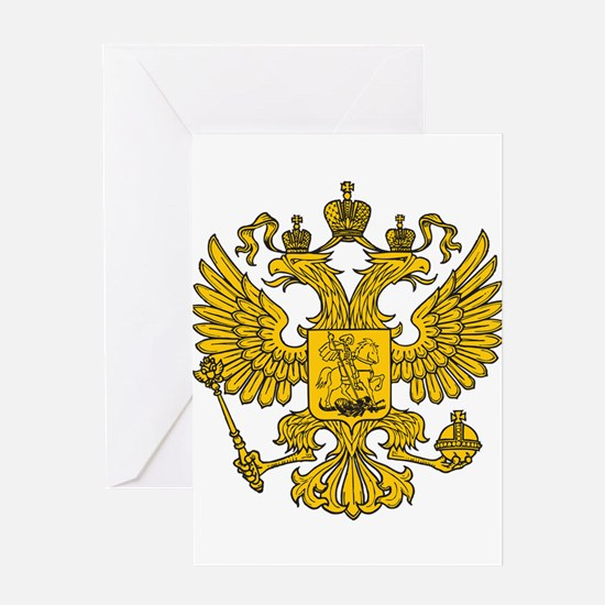 Eagle Coat of Arms Greeting Card
