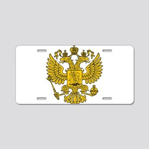 Eagle Coat of Arms Aluminum License Plate