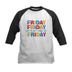 Friday Friday Kids Baseball Jersey