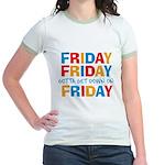 Friday Friday Jr. Ringer T-Shirt