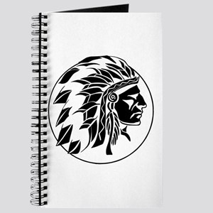 Indian Chief Head Journal