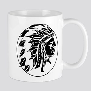Indian Chief Head Mug