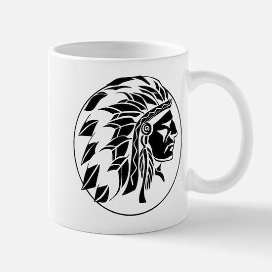 Indian Chief Head Mug