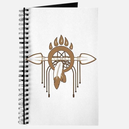 Brown Dreamcatcher Journal
