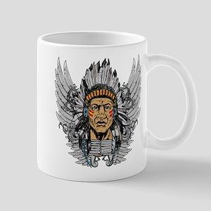 Indian Chief Wings Mug