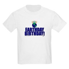 earthday_Birthday Kids T-Shirt