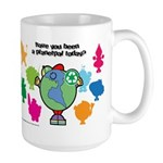 Have you been a Planetpal, today? Large Mug