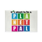 It's Green to be a Planetpal Rectangle Magnet (100