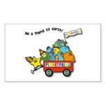 Planetpals Earthday Everyday Sticker (Rectangle 50