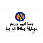 War Peace symbol Postcards (Package of 8)