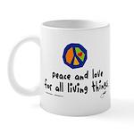 War Peace symbol Mug