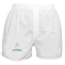 I wanna know where da gold at Boxer Shorts