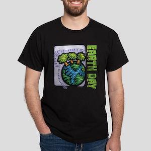Earth Day Trees Dark T-Shirt