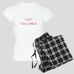 Softball (Pink) Women's Light Pajamas