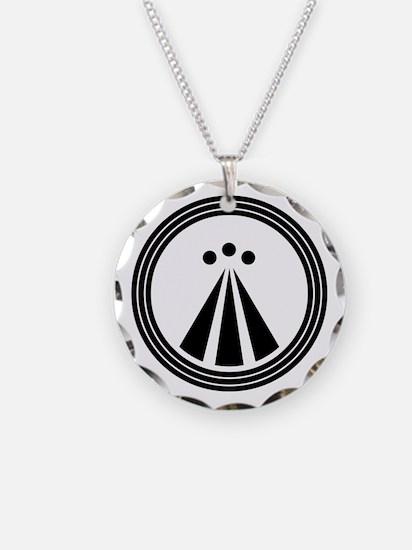 Druid Symbol Necklace Circle Charm