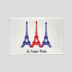 I Love Paris Rectangle Magnet