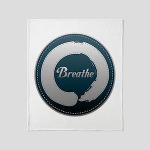 Breathe Enso Throw Blanket
