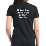 If You Can Read This.. Women's Dark T-Shirt