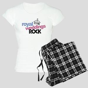 Royal Weddings Rock Women's Light Pajamas