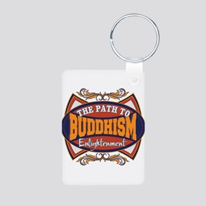 Buddhism Path to Enlightenment Aluminum Photo Keyc