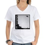 UFO Photography 5 Women's V-Neck T-Shirt