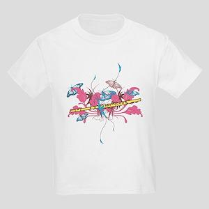 Butterfly Flute Kids Light T-Shirt