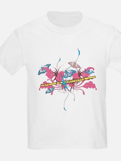 Butterfly Flute T-Shirt
