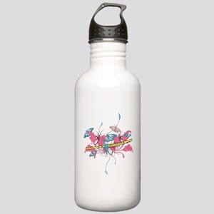 Butterfly Flute Stainless Water Bottle 1.0L