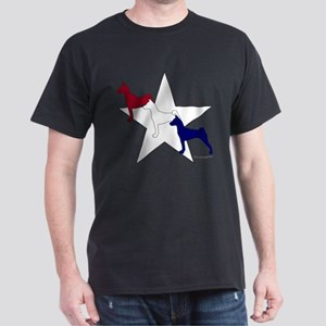 Patriotic Basenjis Dark T-Shirt