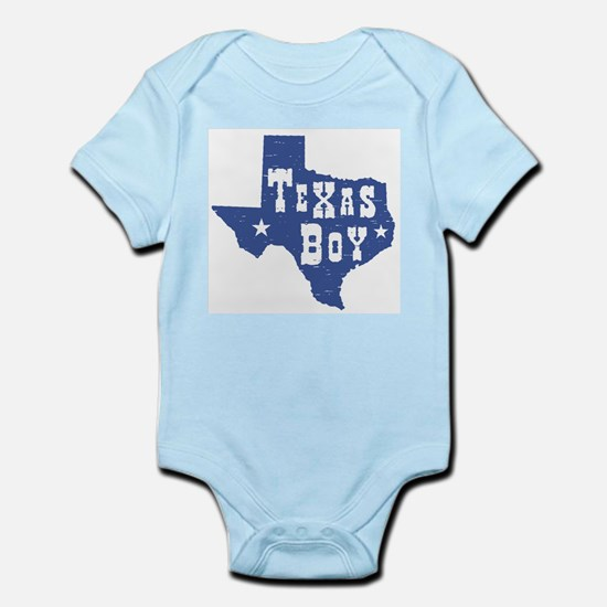 Texas Boy Infant Creeper