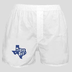 Texas Boy Boxer Shorts