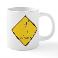 Atl Radio X Caution 20 Oz Ceramic Mega Mug Mugs