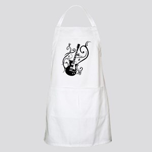 Retro Guitar waves Apron