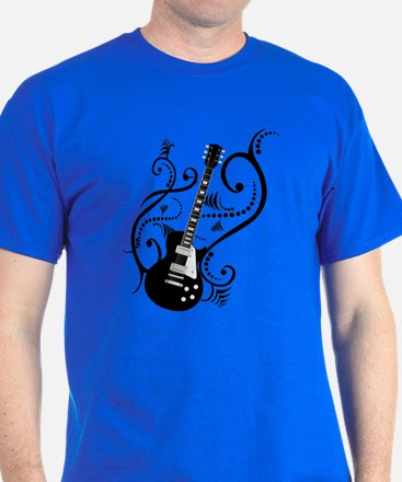 Retro Guitar waves T-Shirt