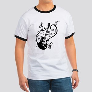 Retro Guitar waves Ringer T