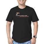 Only Hands Would Satisfy Men's Fitted T-Shirt (dar