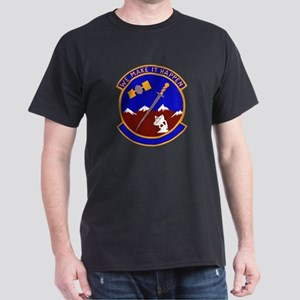 1001st Security Police Black T-Shirt
