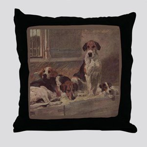 Foxhound Gifts-1 Throw Pillow